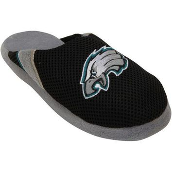 Men's Philadelphia Eagles NFL Jersey Slippers