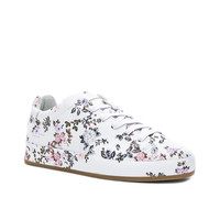 Rag & Bone Leather RB1 Low Sneakers in Garden Floral | FWRD