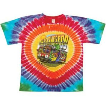 Grateful Dead Men's  San Francisco Bears Tie Dye T-shirt Multi