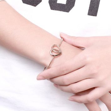 Bracelets for Women Fashion Gold Cross love  rose gold jewelry