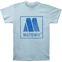 Motown Men's  Vintage Logo T-shirt Blue