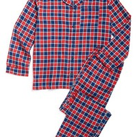 Tucker + Tate Two-Piece Flannel Pajamas (Little Boys & Big Boys) | Nordstrom