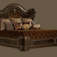 High end master bedroom set. King, Queen, and CA king Live like a King, luxury furnishings for castles to cottages Bernadette Livingston Furniture.