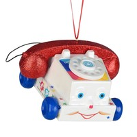 Department 56 Fisher Price Chatter Telephone Ornament