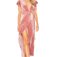 MISA Los Angeles Carolina Dress in Pink