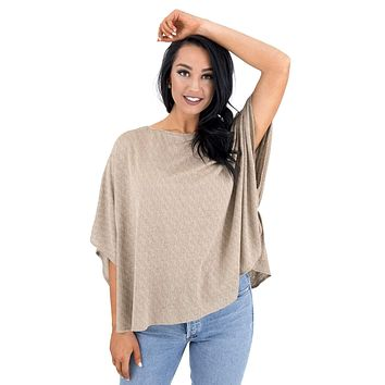 Women's Dollman Sleeve Pullover Top
