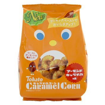 Japan Centre - Tohato Caramel Corn Roast Almond Caramel Snacks - Biscuits