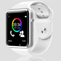 Bluetooth SmartPhone A1 Wrist Watch Sport IWatch Style for IOS Apple Android Samsung