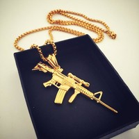 Gift Jewelry New Arrival Shiny Stylish Hip-hop Club Necklace [8439460739]