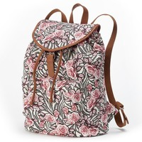 Candie's Riley Floral Backpack (Pink)