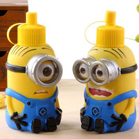 Funny Minions Cartoon Stainless Steel Big Vacuum Cup
