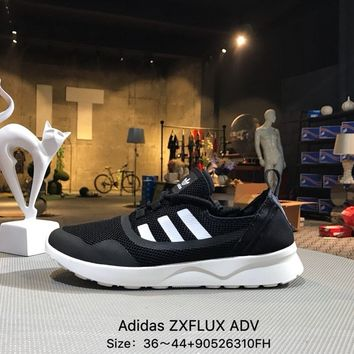 ADIDAS ZX FLUX ADV Black White Sports Running Shoes Sneaker - BB2285 ad27feb66efa
