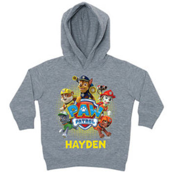 Gray 'PAW Patrol' Personalized Hoodie - Toddler & Kids | zulily