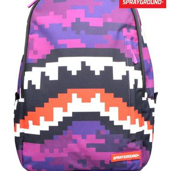 SPRAYGROUNDPIXEL SHARK BACKPACK