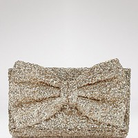 Betsey Johnson Bow-Tiful Sequin Clutch - Clutches & Evening - Bloomingdales.com