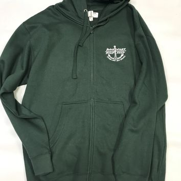 Bare Wires Midweight Full Zip Sweatshirt Alpine Green