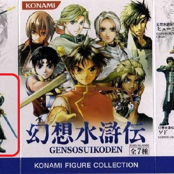 Yamato Konami Genso Suikoden Trading Collection Suikogaiden Nash Latkje Mini Figure