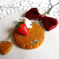 Kawaii Cute Gingerbread Cookie Stra.. on Luulla