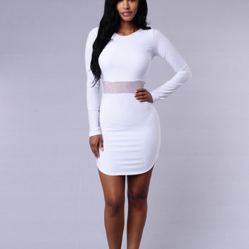 A-List Dress - White