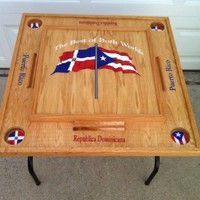 Puerto Rico & Dominican Republic Domino table
