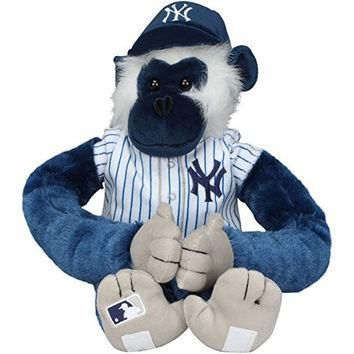 MLB New York Yankees 27 Jersey Monkey Plush, Blue
