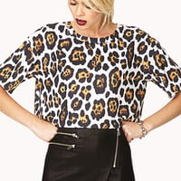 Untamed Jaguar Crop Top