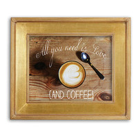 Love is All You Need and Coffee Print Printable Art Coffee Art Coffee Quote Coffee Lovers Kitchen Decor Coffee Bar 8x10 Instant Download
