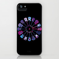 Music Circle iPhone & iPod Case by Matt Irving