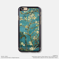 Vincent Van Gogh Almond Blossoms iPhone 6 6Plus case iPhone 5s case iPhone 5C case iPhone 4 4S case Samsung galaxy Note 2 Note 3 Note 4 S3 S4 S5 case 549