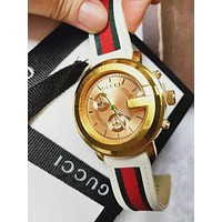 GUCCI Hot Sale Boys Girls Quartz Movement Watch Watches Couple Wrist Watch