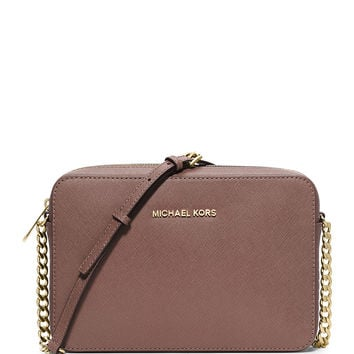 Jet Set Travel Large Crossbody Bag, Dusty Rose - MICHAEL Michael Kors