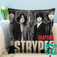 The Strypes Snapshot Zippered Pillow Case, Cushion Case, Pillow case