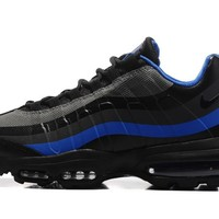 Best Sale NIKE AIR MAX 95 ULTRA ESSENTIAL Black Blue