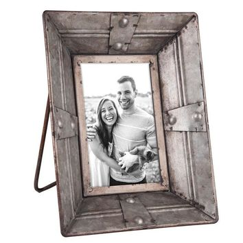 Industrial Riveted Picture Frame 5x7