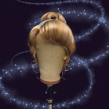 Cinderella Wig - Theme Park Style by Fairytale Wigs