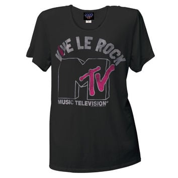 MTV - Vive le Rock Juniors Boyfriend T-Shirt