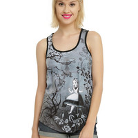 Disney Alice In Wonderland Falling Sublimation Girls Tank Top