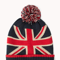 British Flag Bobble Beanie