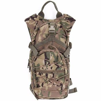 VONE05L Multifunctional outdoor riding hydration pack tactical camouflage backpack sports bag mountaineering