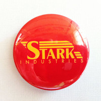 "Stark Industries (Ironman Avengers) - 1.75"" Badge / Button"