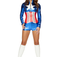 2pc Sexy All American Costume