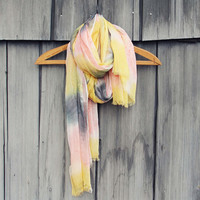 Dream Lake Scarf in Sunrise
