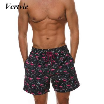 Vertvie 2018 Men's Swimming Shorts Mens Gym Fitness Shorts Breathable Loose Quick Dry Male Surfing Shorts Men Beach Surfing Man