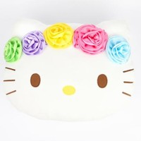 Hello Kitty Face Cushion: Magical Garden