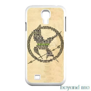 The Hunger Games logo Cover case for iphone 4 4s 5 5s 5c 6 6s plus samsung galaxy S3 S4 mini S5 S6 Note 2 3 4