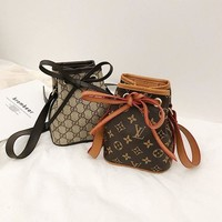 Louis Vuitton LV / Gucci GG Mini Bucket bag