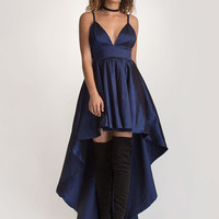 Under The Moonlight High-Low Gown