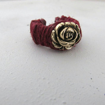 Golden Rose Hemp Ring