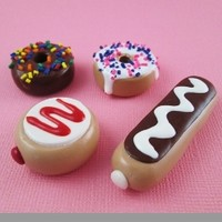 American Girl Doll Food - Donut by Katie's Craftations