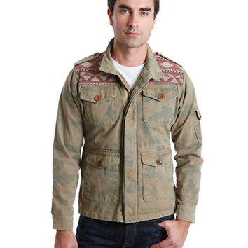 Lucky Brand Pacific Camo Jacket